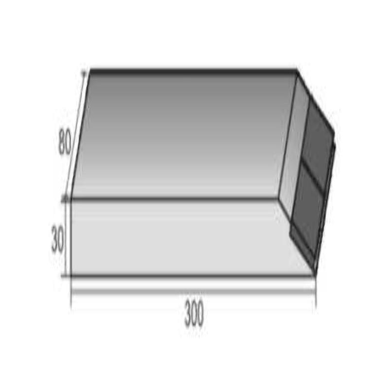 BEC CRB DECHAUMAGE A SOUDER 300X80X30 PLAT