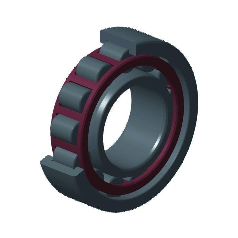 ROULEMENT A ROULEAUX CYLINDRIQUES NU208C3 40x80x18 mm NTN