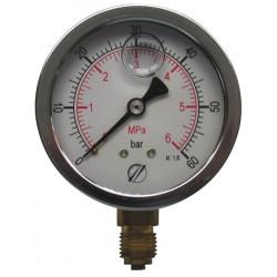 Manomètre diamètre 63 CL 1.6 gly 0/600b pour pB12