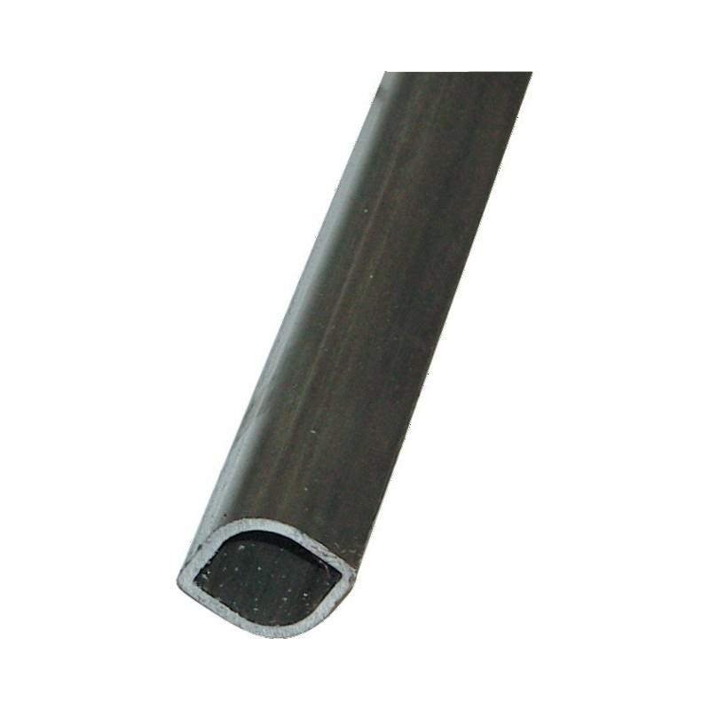 Tube longueur 2900 mm intérieur 34.5x40x3 profil (o) w