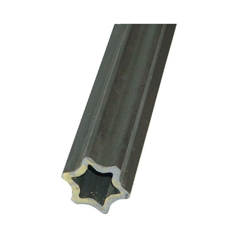 TUBE ETOILE INT.37X51X6 PROFIL (S4) LONGUEUR 960 MM