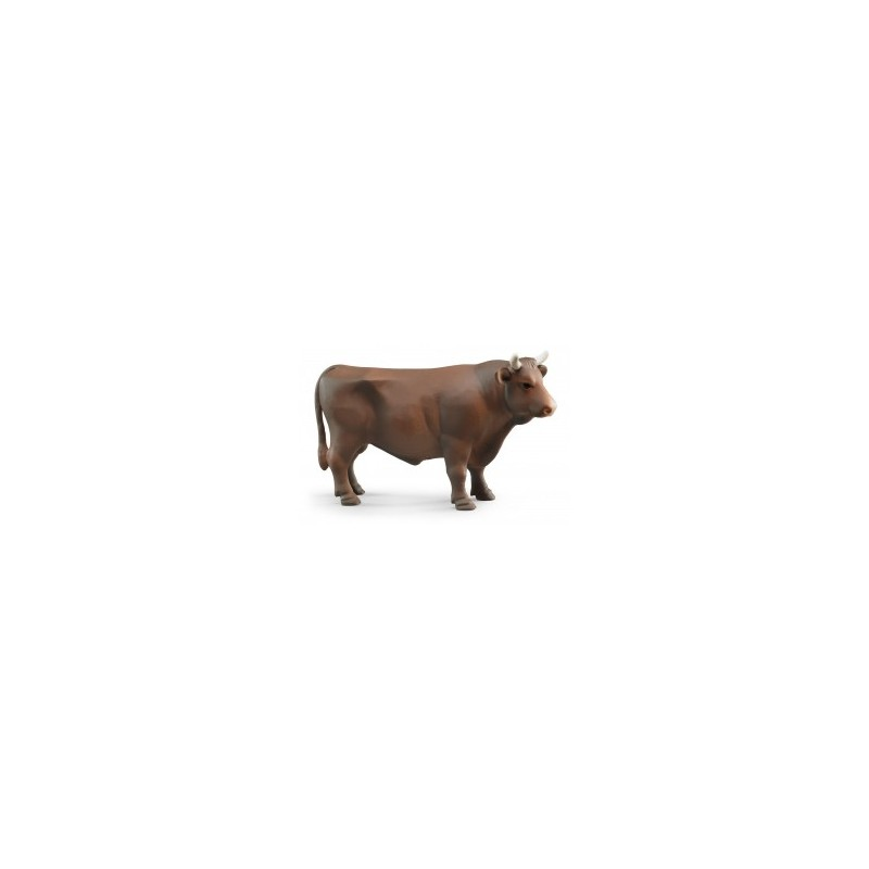 Taureau brun au 1/16ème