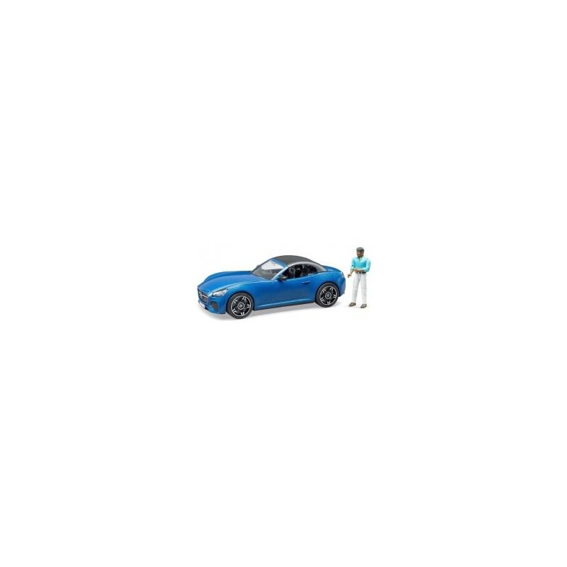 Voiture Bruder Roadster avec conducteur au 1/16ème