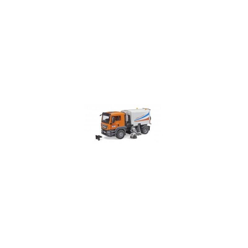 Camion Man TGS de nettoyage de rues au 1/16ème