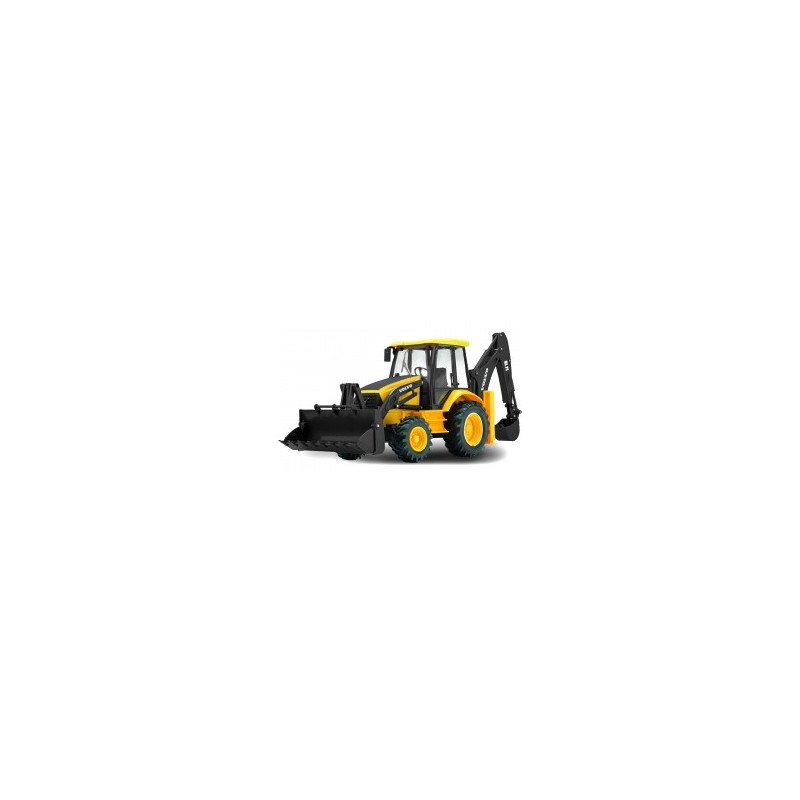 Tractopelle Volvo Backhoe Loader radio commandé au 1/18ème