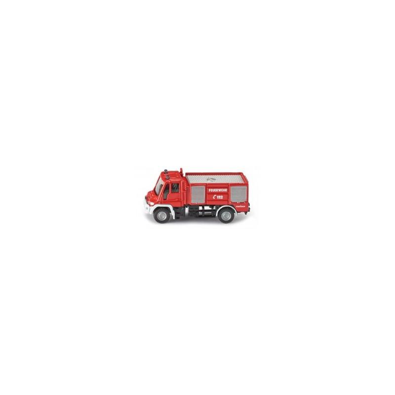 Camion de pompier Unimog au 1/64ème