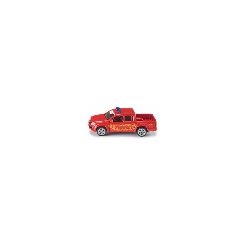 Pick-up de pompier au 1/64ème