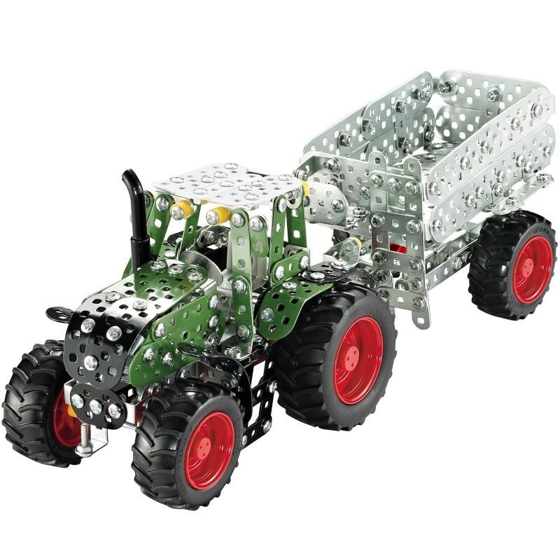 Tracteur Fendt 313 Vario avec remorque 759 pièces, à partir de 8 ans
