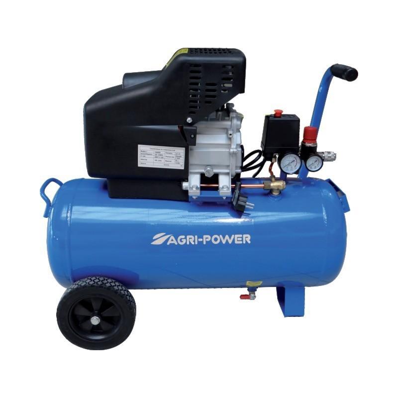 Compresseur 50L 2CV 8 Bars Mono Agri-Power
