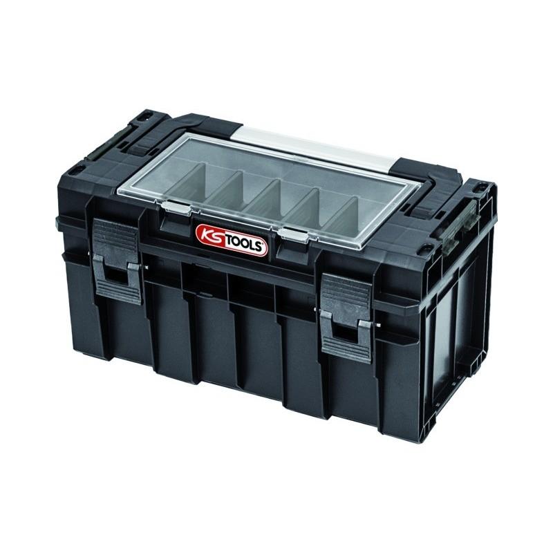 Caisse à outils PVC 14L SCM 450x260x240 mm