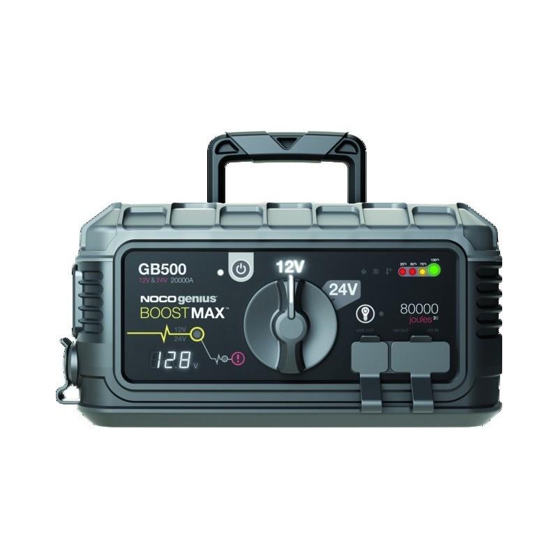 Booster lithium gb500 noco - 12v24v/20000a