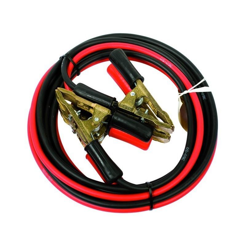 Paire câbles de démarage 50mm2 l:5m vrac neutre