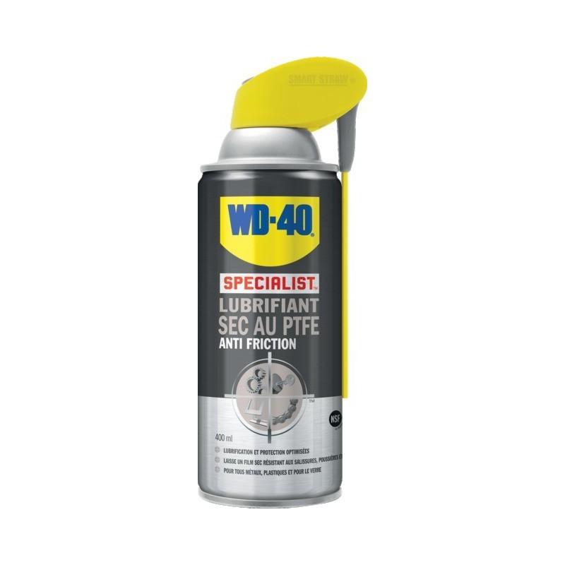 Lubrifiant sec au ptfe 400 ml syst.pro wd40