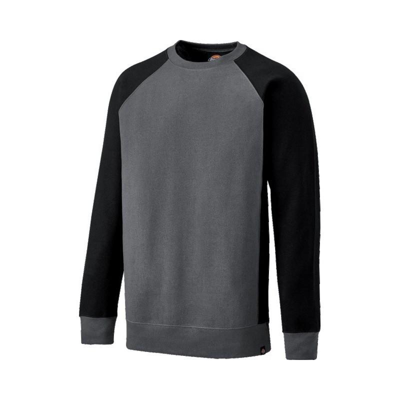 Sweatshirt 330gr coloris gris noir taille XXL
