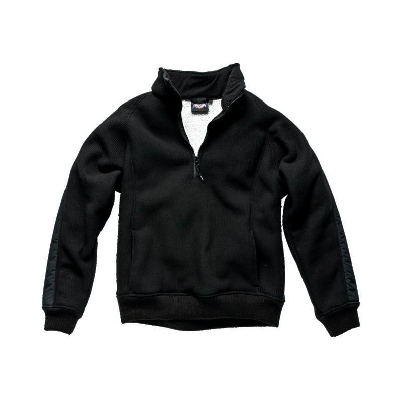 Pull polaire noir taille XXXL 100% polyester