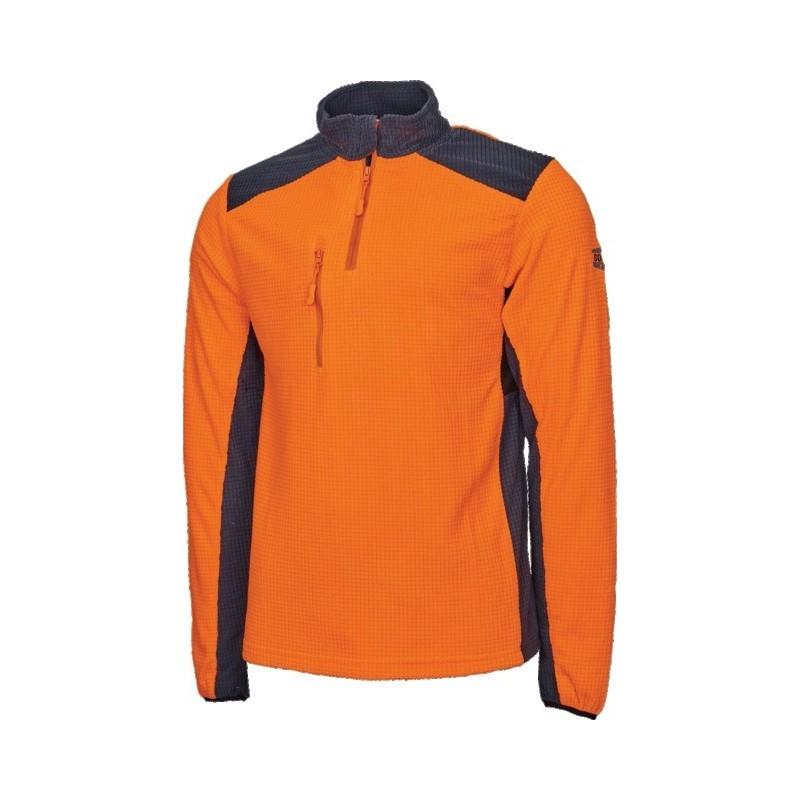 Polaire cob orange M