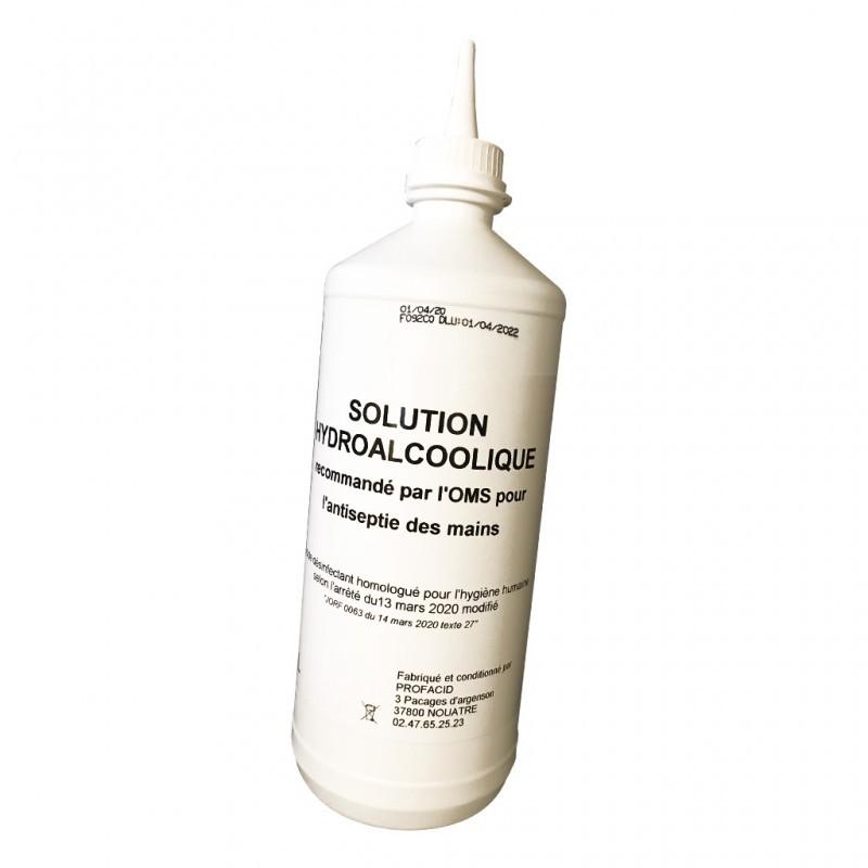 Gel hydro alcoolique liquide - Destockage