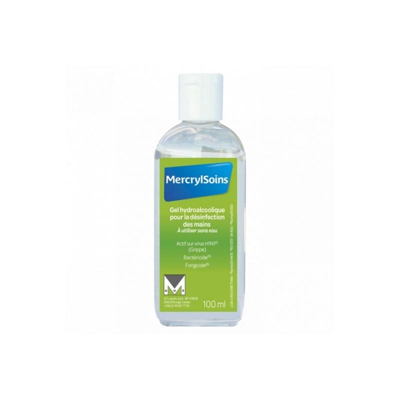 Mercryl soin GeL hydroalcoolique 100ml