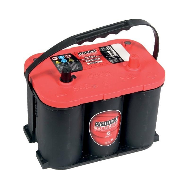 Batterie optima rouge RTR 4,2l