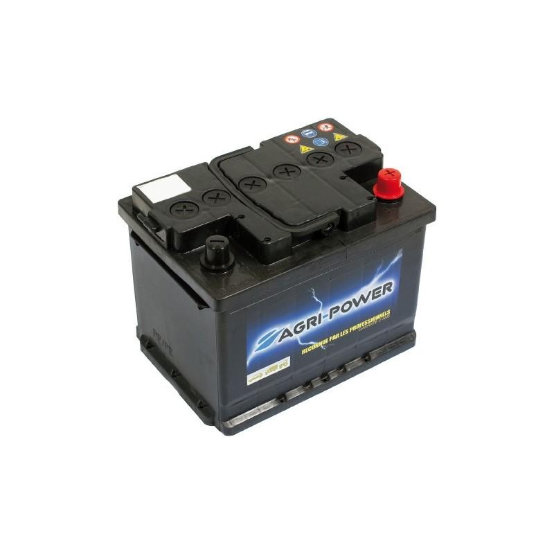 Batterie 12v-60ah/50a décharge lente Agri-Power