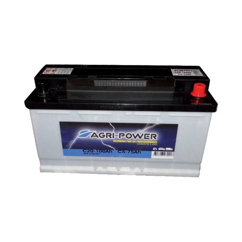 Batterie 12v-100ah décharge lente Agri-Power