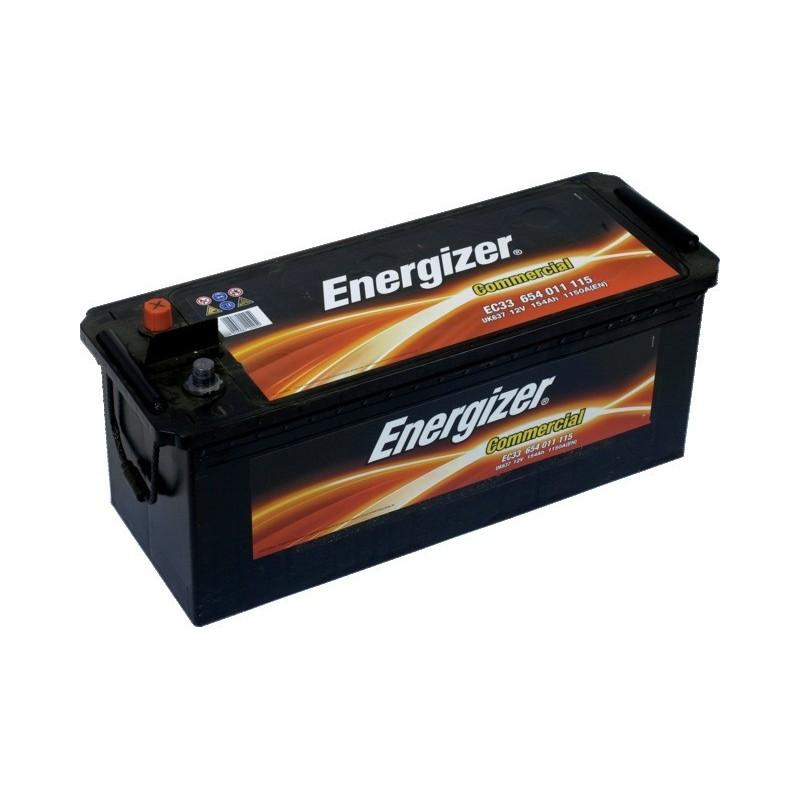 Batterie 12v-154ah/ 1150 a en + a gauche Energizer
