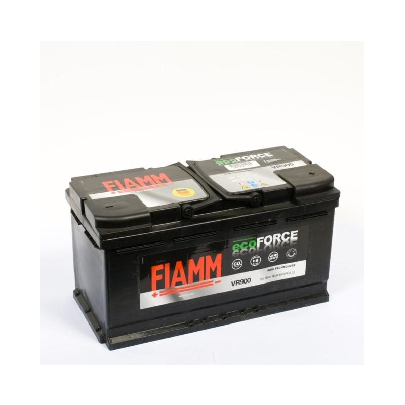 Batterie 12v 90ah 900a en + droite Fiamm vr 900 ecoforce