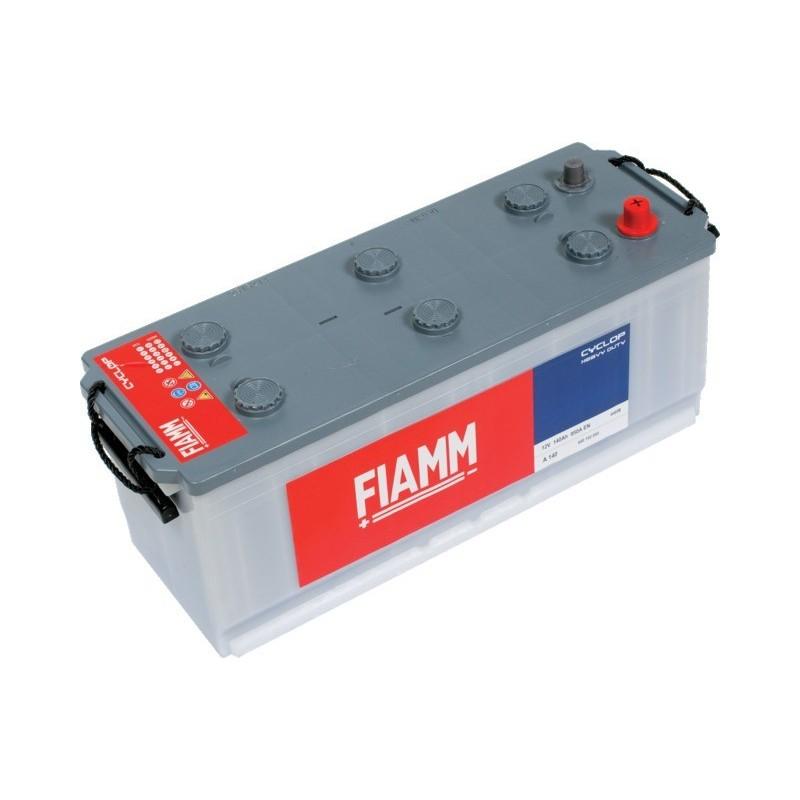 Batterie 12v 140ah 950a en +gauche Powercube ehd a140
