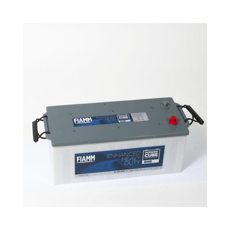 Batterie 12v 160ah 1050a en +gauche Powercube ehd b160