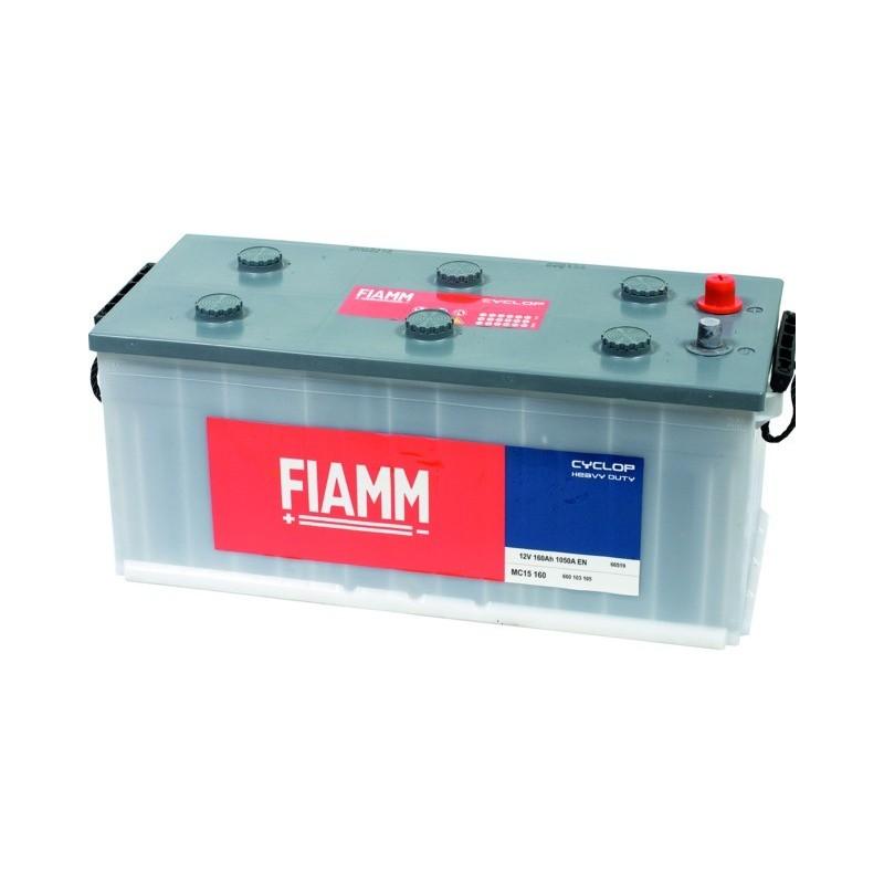 Batterie 12v 160ah 1050a en +droite Powercube ehd mc15 160