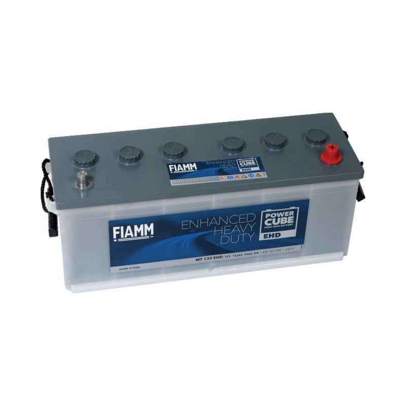 Batterie 12v 132ah 950a en +droite Power cube ehd mt132