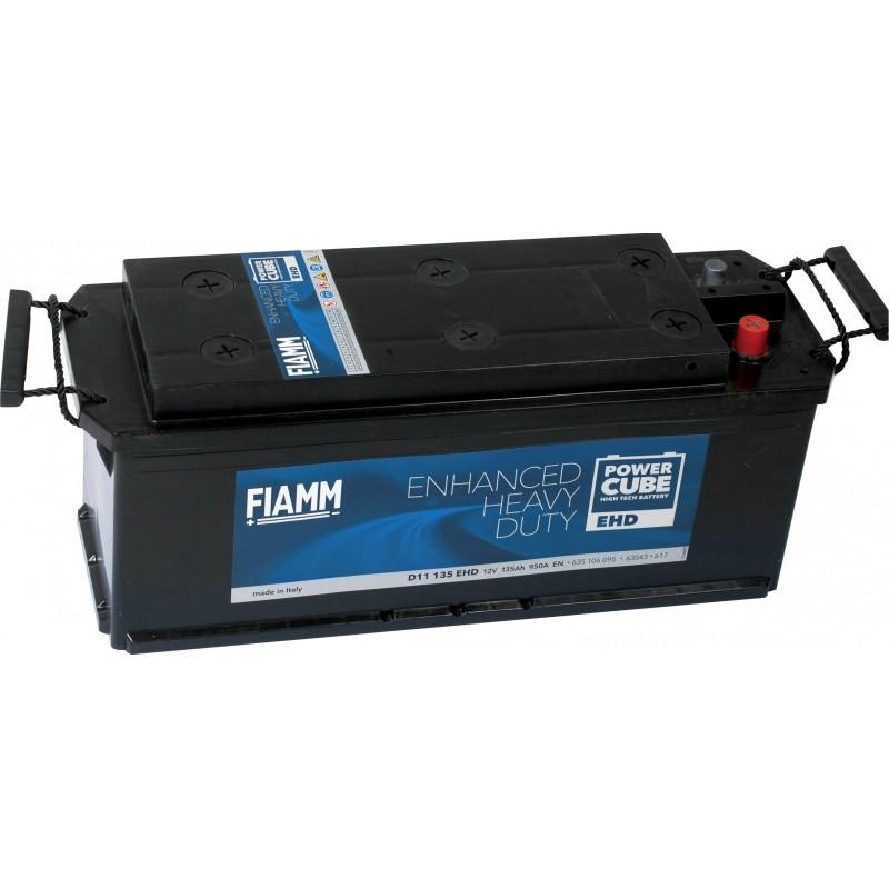 Batterie 12v 135 Ah 950 A en +gauche power cube ehd d11135