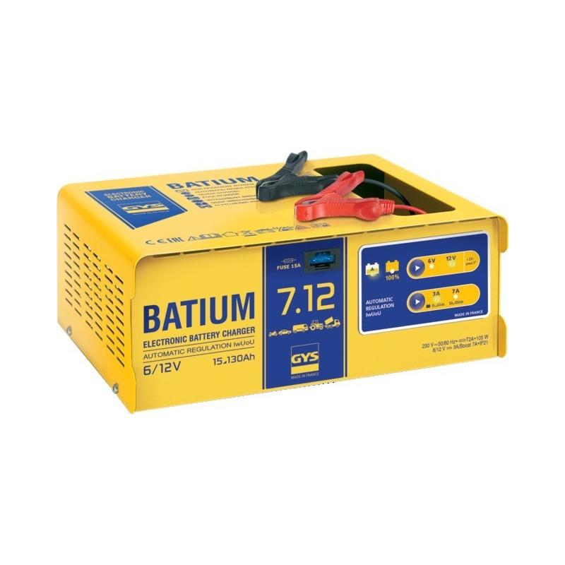 Chargeur de batterie batium 7.12 Gys