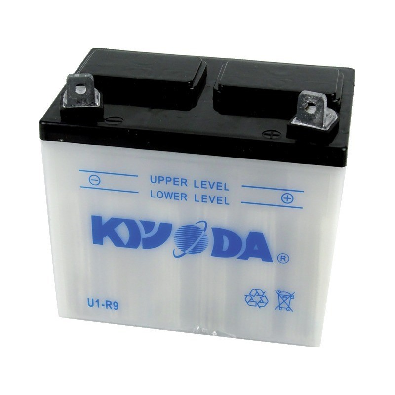 Batterie moto u1r9 sèche