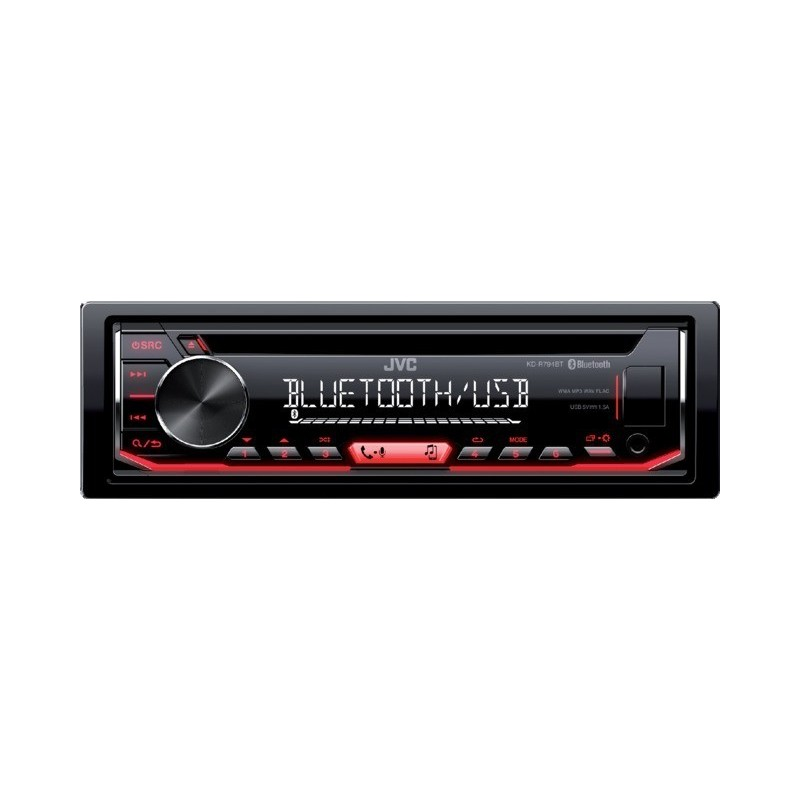Autoradio bluetooth 4x50w kd-r794bt jvc