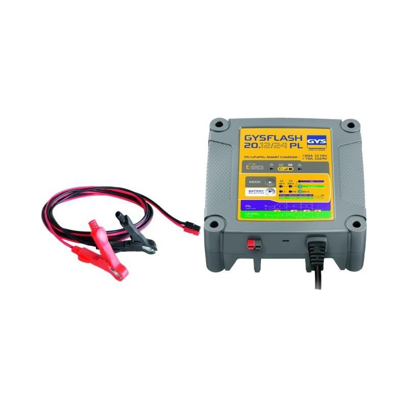Chargeur de batterie gysflash 20.12/24 pl Gys