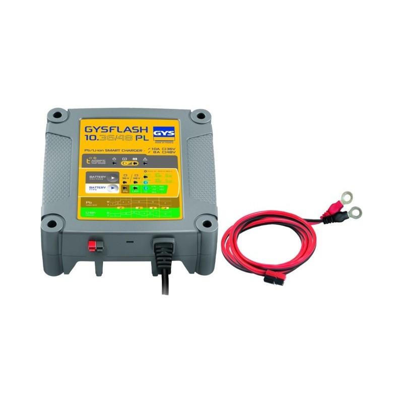 Chargeur de batterie gysflash 10.36/48 pl Gys