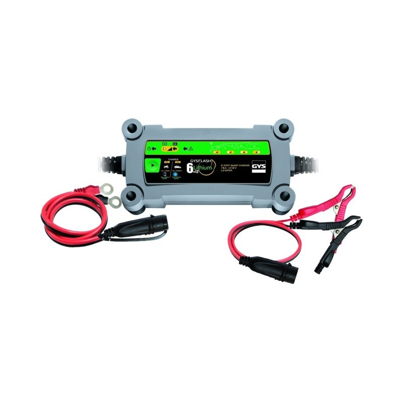 Chargeur de batterie gysflash lithium 6.12 Gys