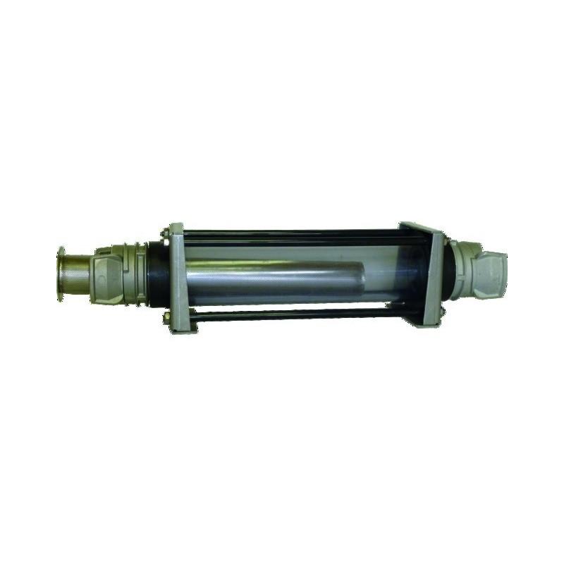 """Filtre inox.2"""""""" raccord à verrou Dn50 tube transparent"""