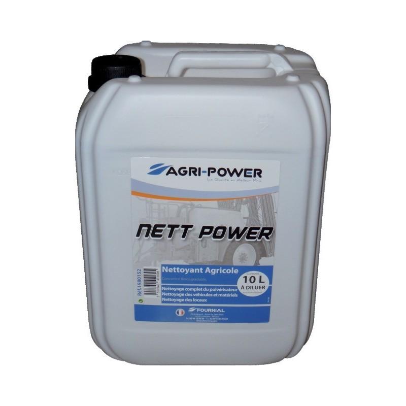 Bidon 10L nettoyant agricole Nett Power