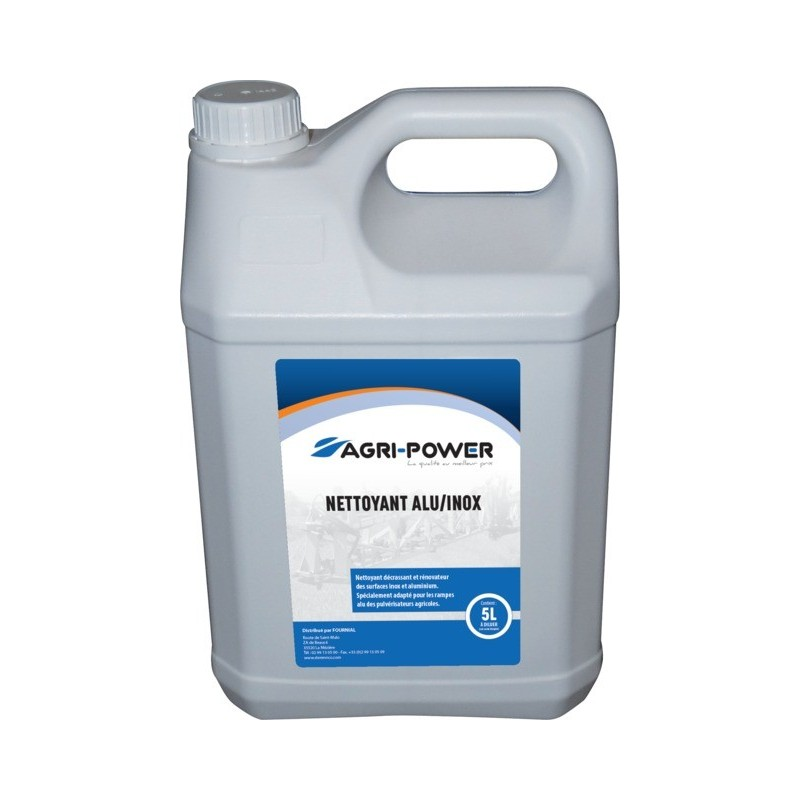 Nettoyant alu/inox bidon 5L Agri-Power