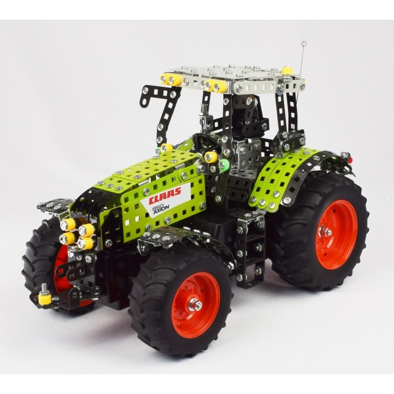 Claas axion 850 radio commande 734 pieces - à partir de 12 ans