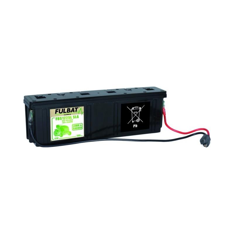 Batterie sèche longue 12v pour tondeuse tractée
