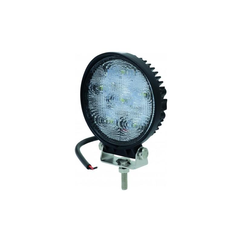 Phare de travail rond 6 LED 18W faisceau large SODIFLASH 17074