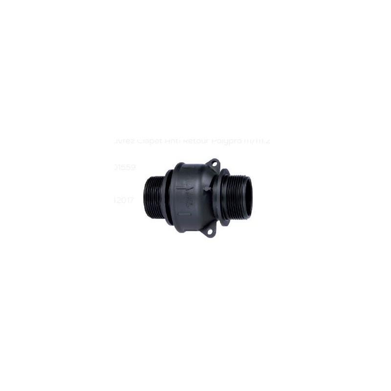 Clapet anti retour polypro M/M 2 - AGZ000155915