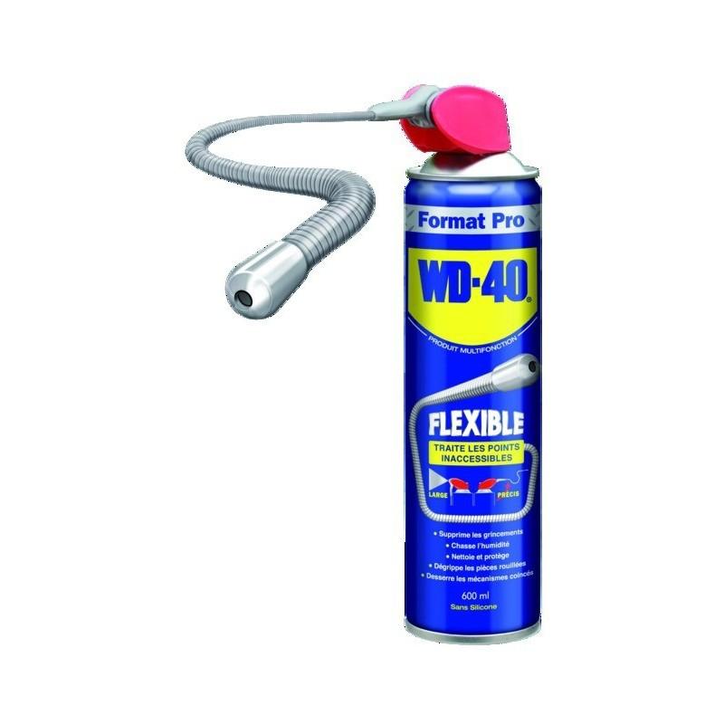Dégrippant WD 40 tube flexible 600ml (pack de 6)