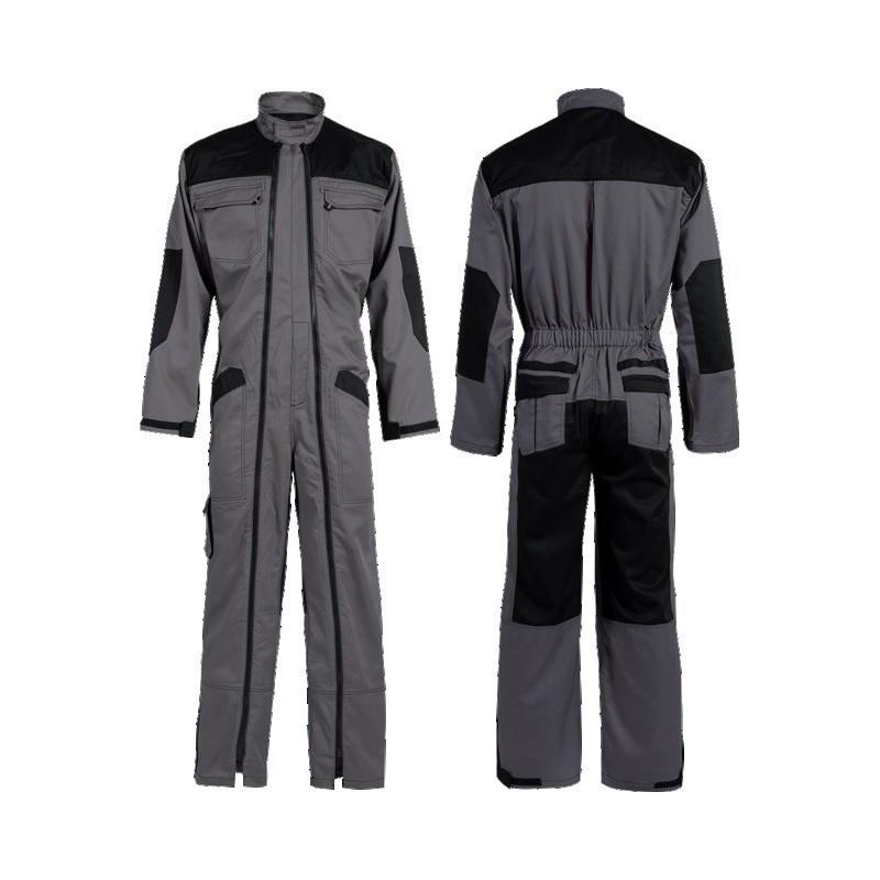 Combinaison double zip taille s gris noir