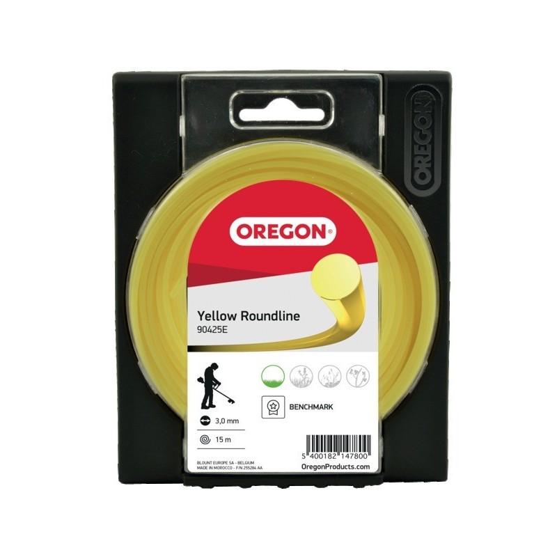 Fil de débroussailleuse rond diamètre 2.4 mm Oregon