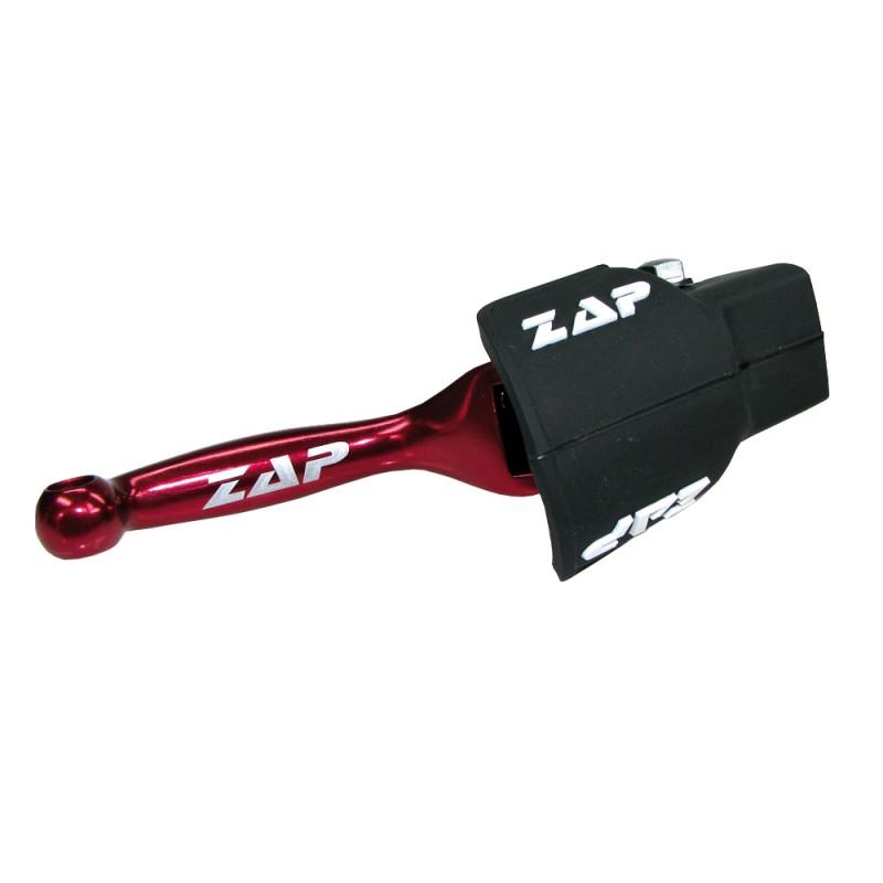 Levier de frein flexible YZ(F)/KXF rouge ZAP TECHNIX