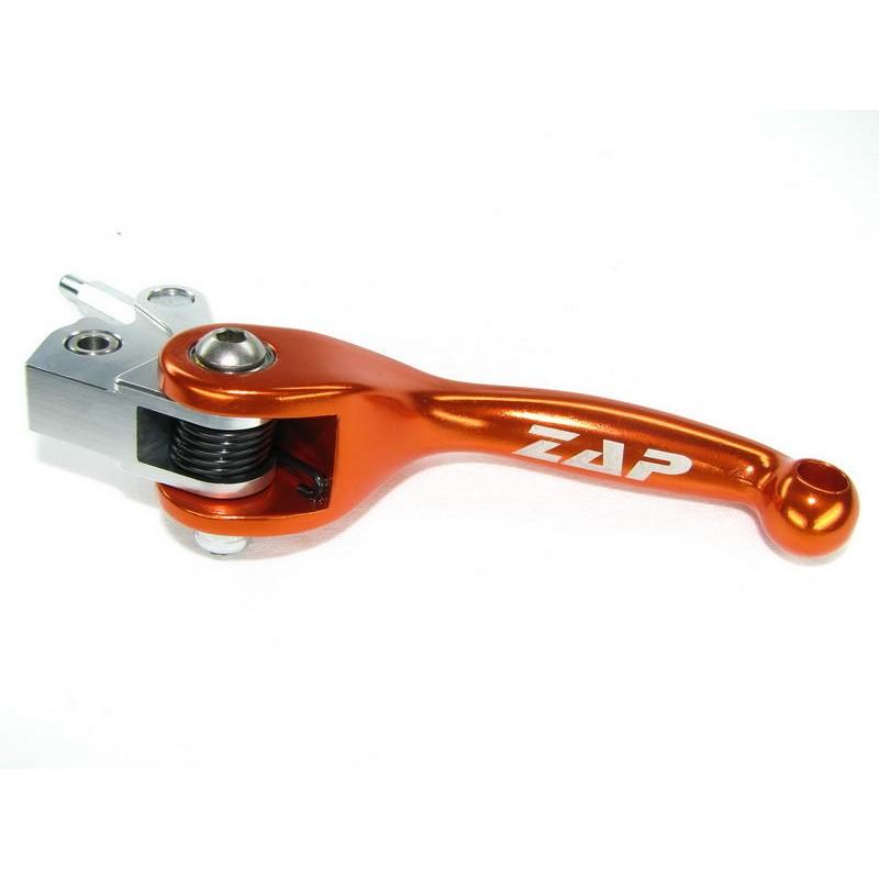 Levier d'embrayage flexible KTMSX(F)/EXC rouge ZAP TECHNIX
